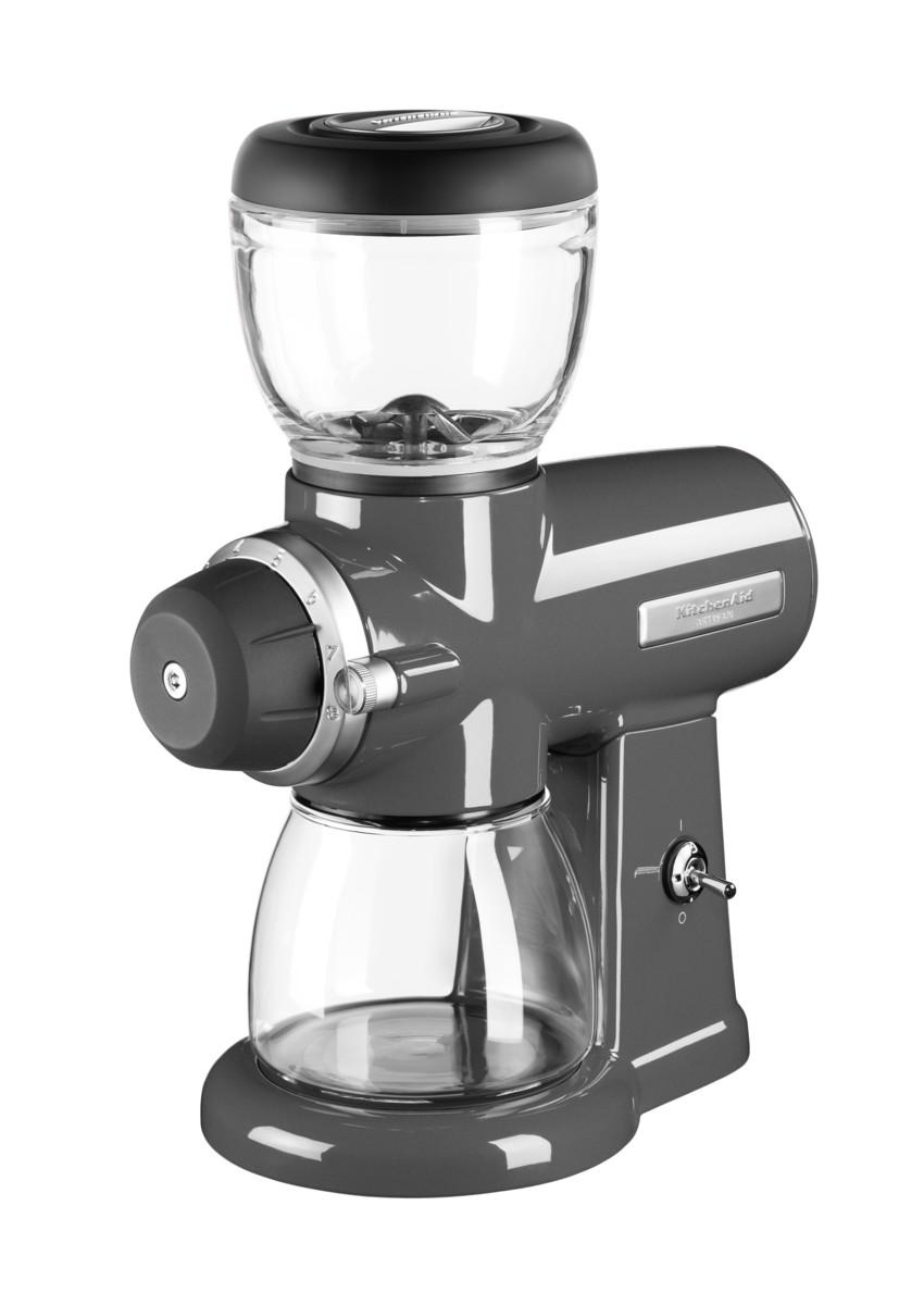 Mlýnek na kávu Artisan 5KCG0702, stříbřitě šedá, KitchenAid