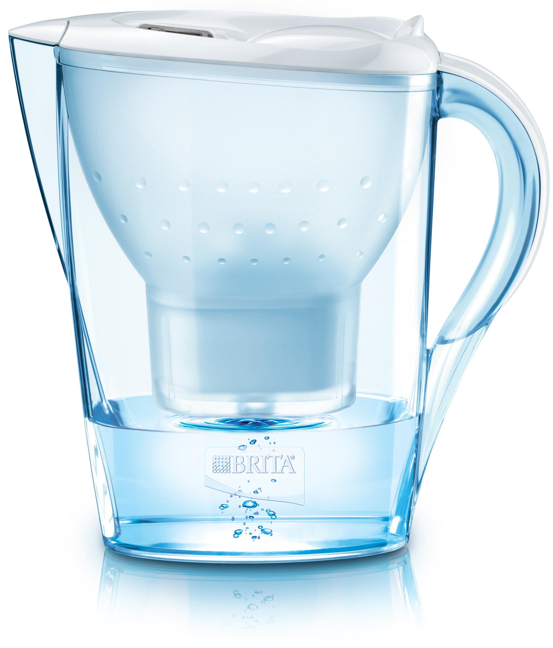 Filtrační konvice Marella Cool Memo 2,4L bílá, BRITA