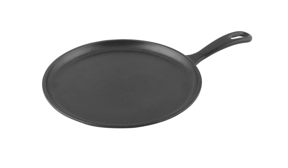 Pánev Palačinková litinová 20 cm černá, LAVA