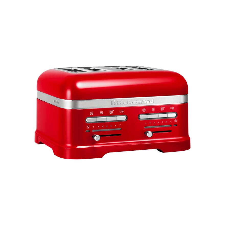 Toustovač Artisan 5KMT4205, KitchenAid Barva: červená metalíza +Příslušenství v hodnotě 1580,-Kč