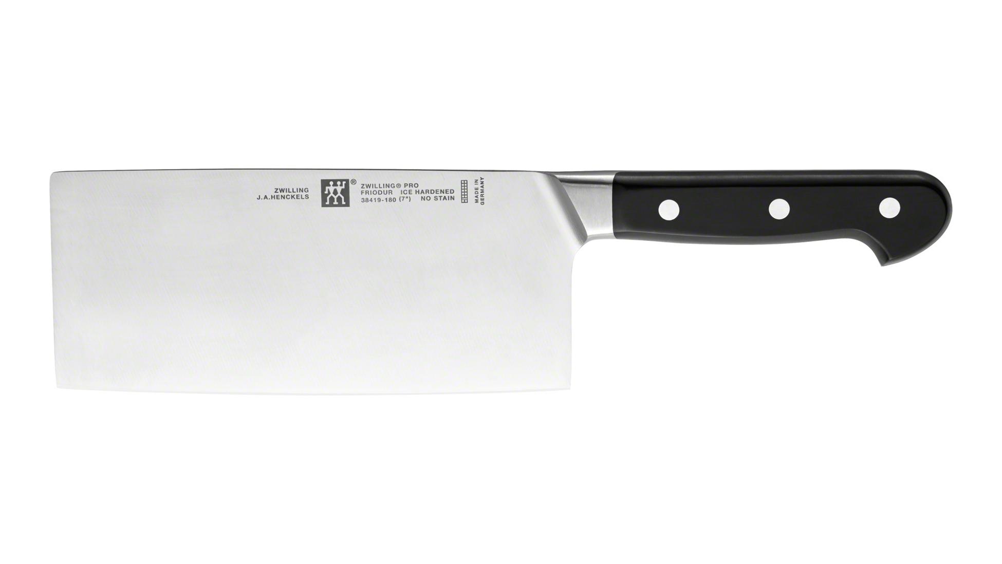Nůž čínský sekáček kuchařský PRO 18 cm, ZWILLING