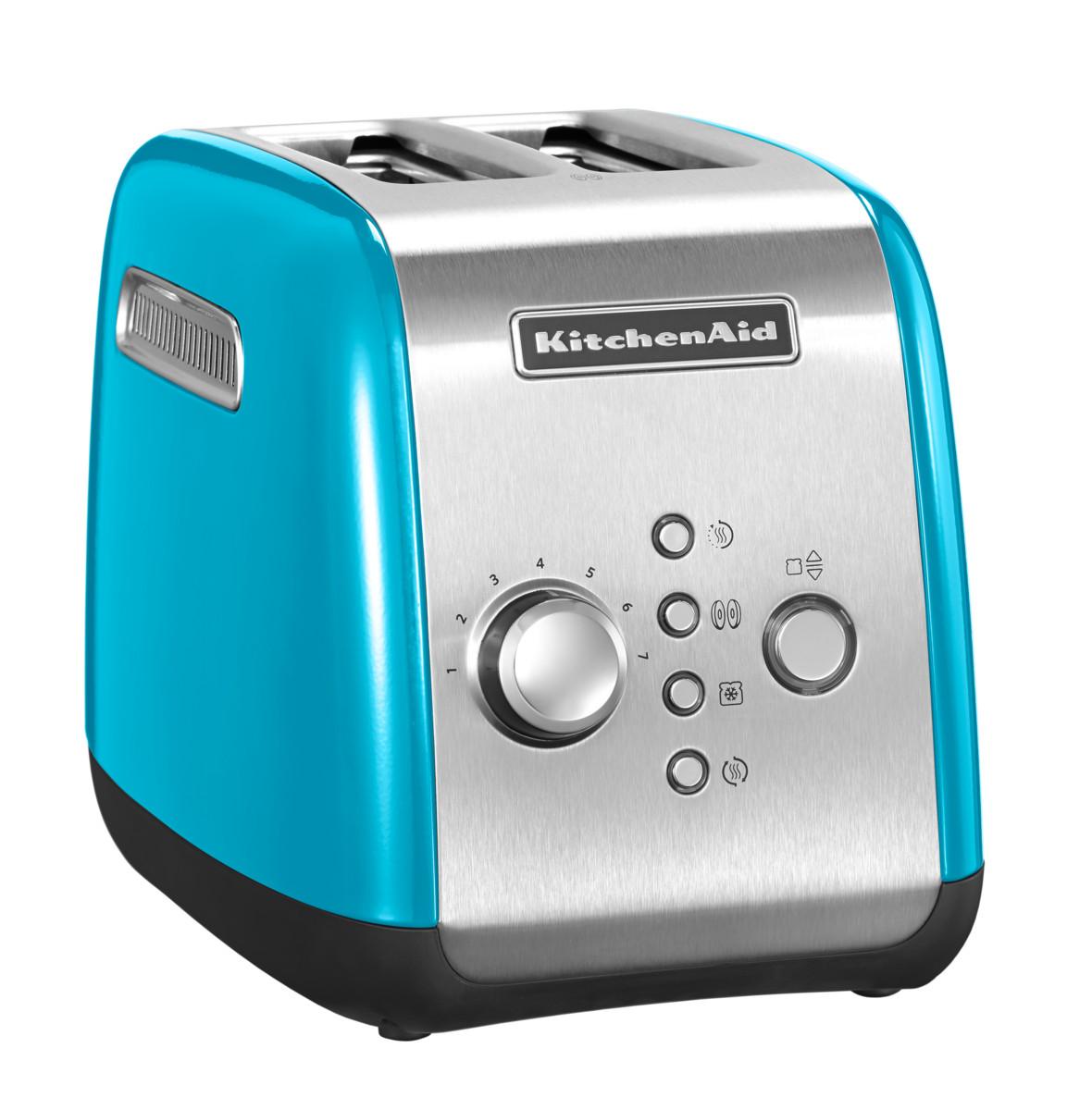 Toustovač P2 5KMT221 křišťálově modrá, KitchenAid +Příslušenství v hodnotě 1580,-Kč