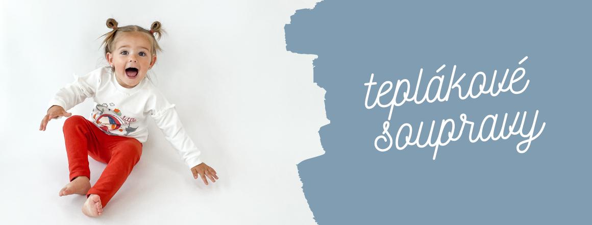 Dvoudílné soupravy pro kojence a děti