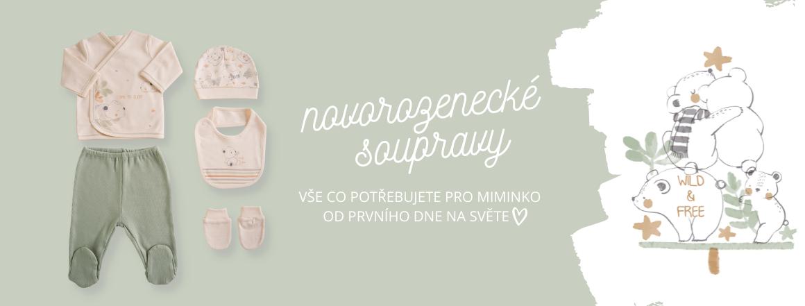 Novorozenecké sety a souprvay
