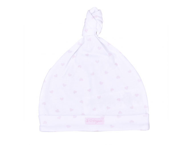 S15928 WHITE PINK HEART
