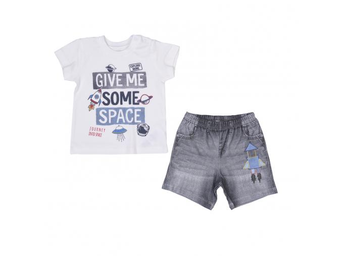 Souprava 2dílná chlapecká - Space_S95494 (Velikost 12 - 18 MĚSÍCŮ)