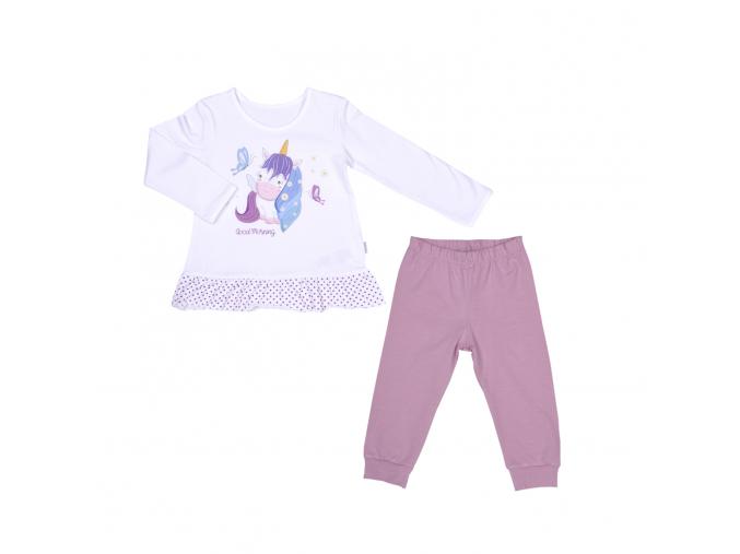 Pyžamo dívčí s jednorožcem_S96309 (Velikost 5 - 6 LET)