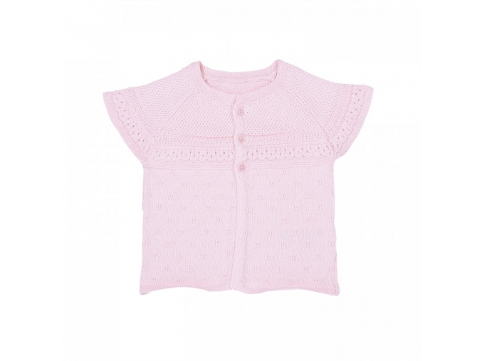 organic knitted ajur vest (3)