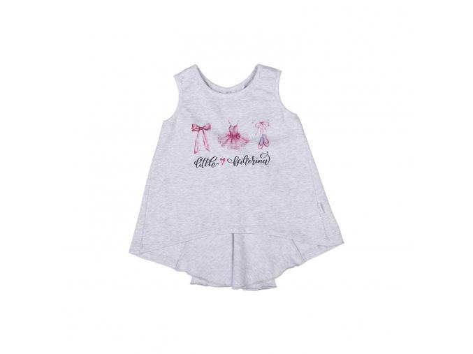 Dívčí top s mašlí Little Ballerina_S07414