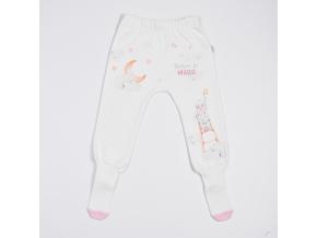 Polodupačky dětské s protiskluzovými ponožkami - králíček_S13279