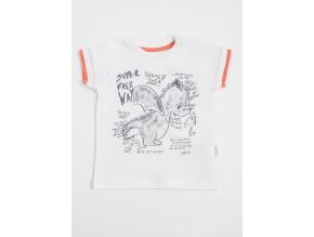 Tričko chlapecké s krátkým rukávem a dráčkem Game Over_S06363