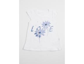Tričko dívčí s krátkým rukávem Love_S07704
