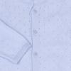 Overal pletený s dírkovým vzorem_S53180 (Barva & Vzor SMETANOVÁ, Velikost 9 - 12 MĚSÍCŮ)