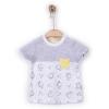 Souprava 3dílná chlapecká  - tričko a dvoje kraťasy YELLOW_S61895 (Velikost 12 - 18 MĚSÍCŮ)