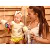 Souprava 2dílná dívčí - tričko a kraťásky YELLOW_S62595 (Barva & Vzor ŽLUTÁ, Velikost 12 - 18 MĚSÍCŮ)