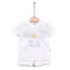 Souprava 2dílná letní chlapecká DREAMS_S63707 (Barva & Vzor MODRÁ/BÍLÁ, Velikost 12 - 18 MĚSÍCŮ)