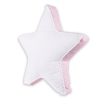 Polštářek velká hvězda DREAMS_S70705 (Barva & Vzor BÍLÁ/MODRÁ, Velikost 41 x 41 CM)