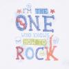 Souprava 2dílná chlapecká  - tričko One Rock a denimové kraťásky 3D_S75359 (Velikost 12 - 18 MĚSÍCŮ)