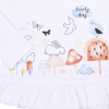 Triko dívčí s dlouhým rukávem a volánkem Lovely Day_S78978 (Velikost 9 - 12 MĚSÍCŮ)