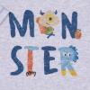 Souprava 2dílná chlapecká - tepláčky s potiskem a triko  Monster_S79562 (Velikost 2 - 3 ROKY)