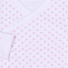 Body kimonové s dlouhými ohrnovacími rukávy a puntíky ANGEL_S88694 (Barva & Vzor CHLAPECKÝ, Velikost 3 - 6 MĚSÍCŮ)