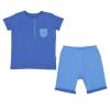 Pyžamo 2dílné letní dvoubarevné_S93919 (Barva & Vzor CHLAPECKÝ, Velikost 2 - 3 ROKY)
