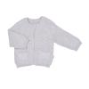 Pletený svetřík na zip s kapsičkami_S75786