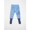 Polodupačky dětské s protiskluzovými ponožkami - medvídek a ježek_S13248
