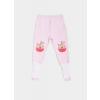 Polodupačky dětské s protiskluzovými ponožkami - jablíčka_S13309
