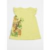 Tričko dívčí s krátkým rukávem - žirafa_S07964