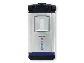 BERNER LED Kapesní svítilna akumulátor, Pocket deLux Bright Premium