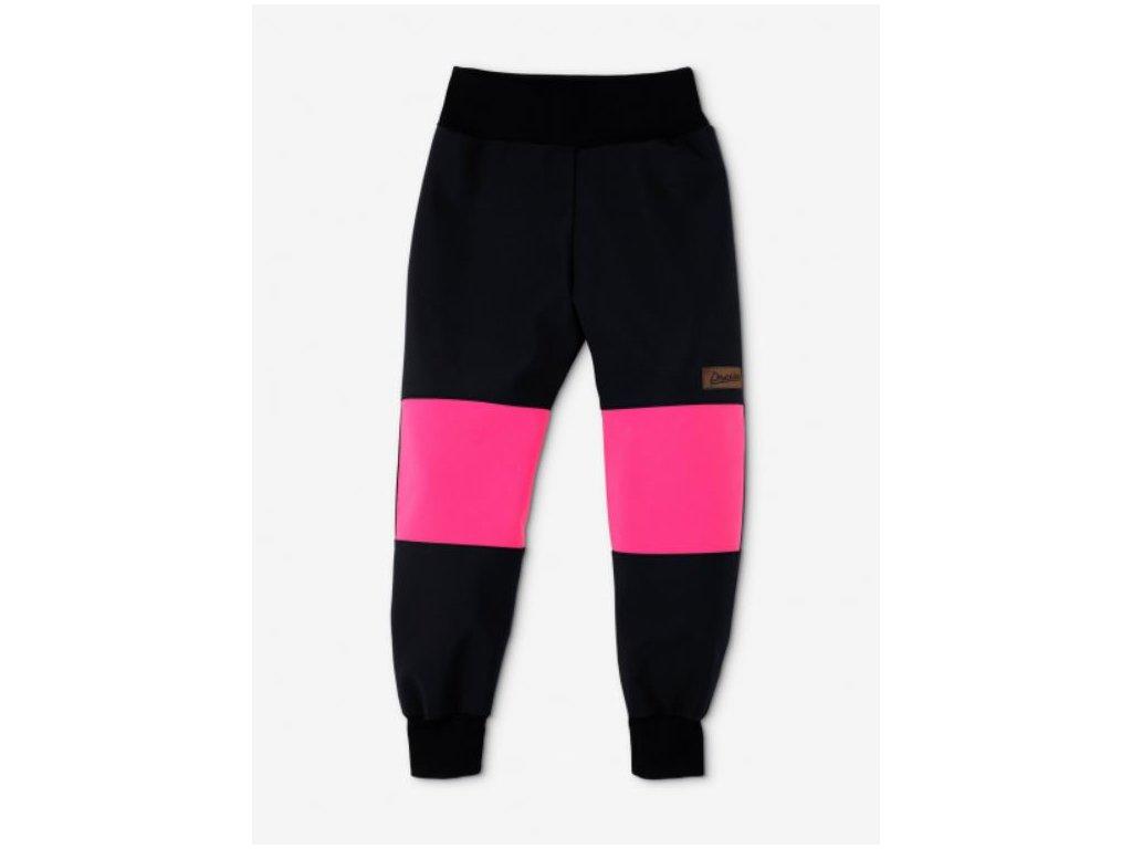 Drexiss zimni softshellove kalhoty Black Pink