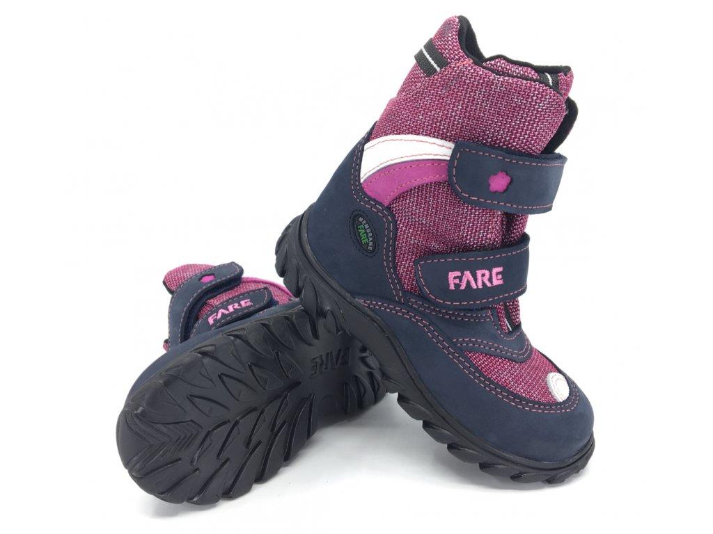 Dětské zimní nepromokavé boty Fare 848254