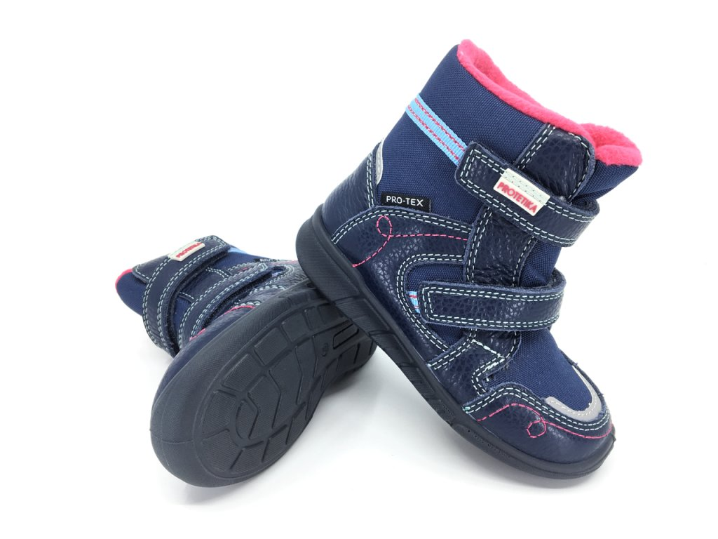 dětské zimní boty Protetika Deneris Navy