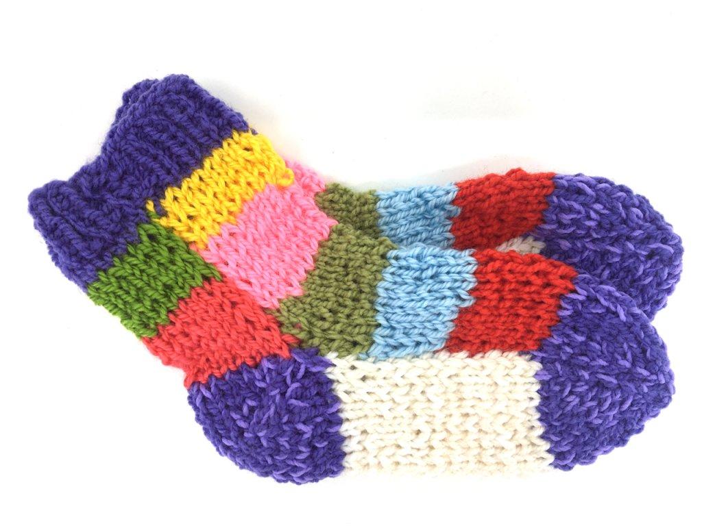 Dětské ručně pletené ponožky od Magdy 2