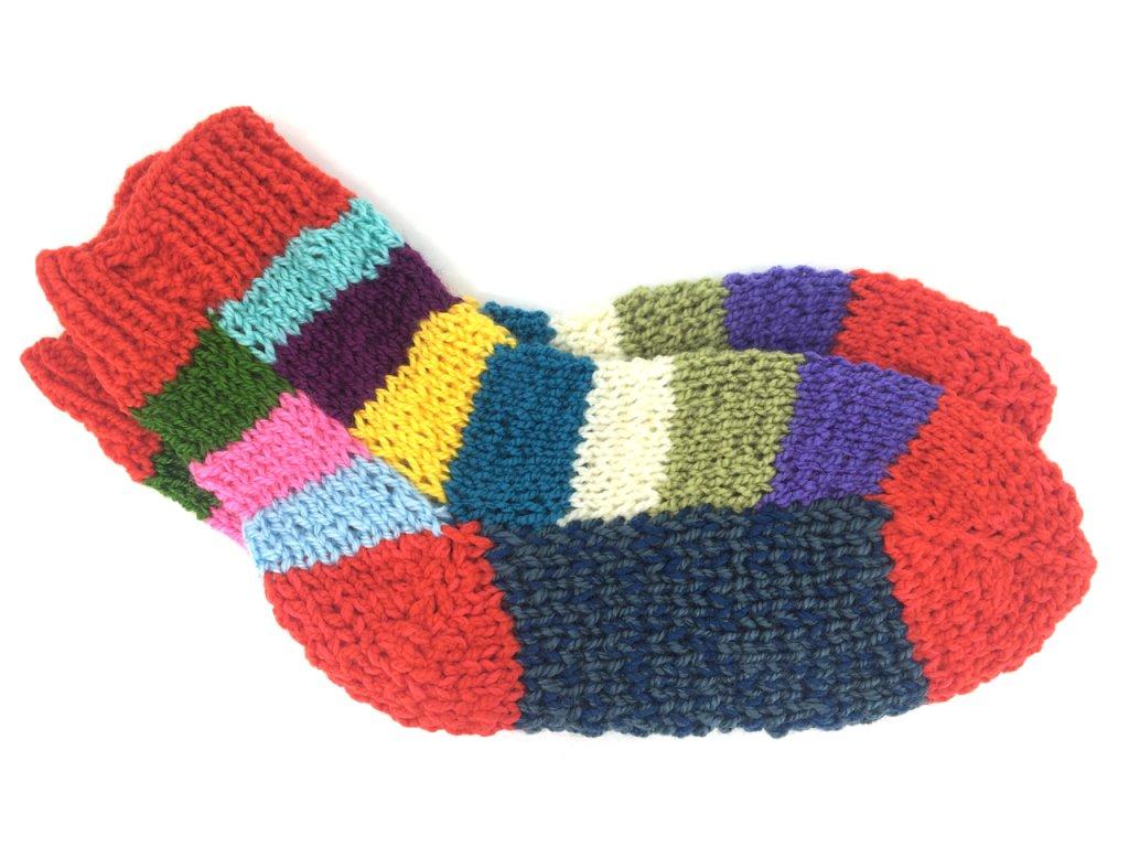 Dětské Pletené ponožky od Magdy 4