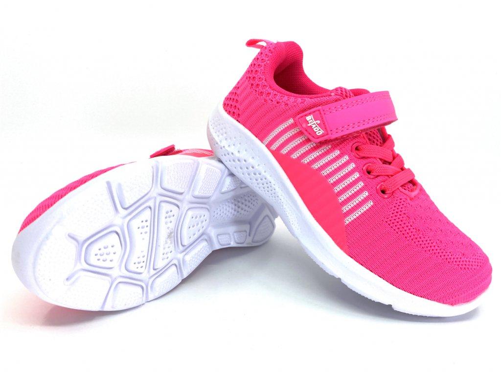 Tenisky Befado Sport Collection růžové