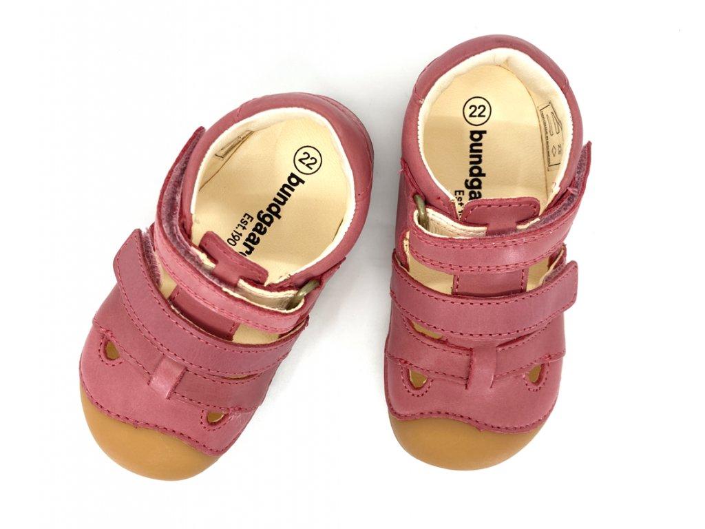 Bundgaard berafoot sandály růžové
