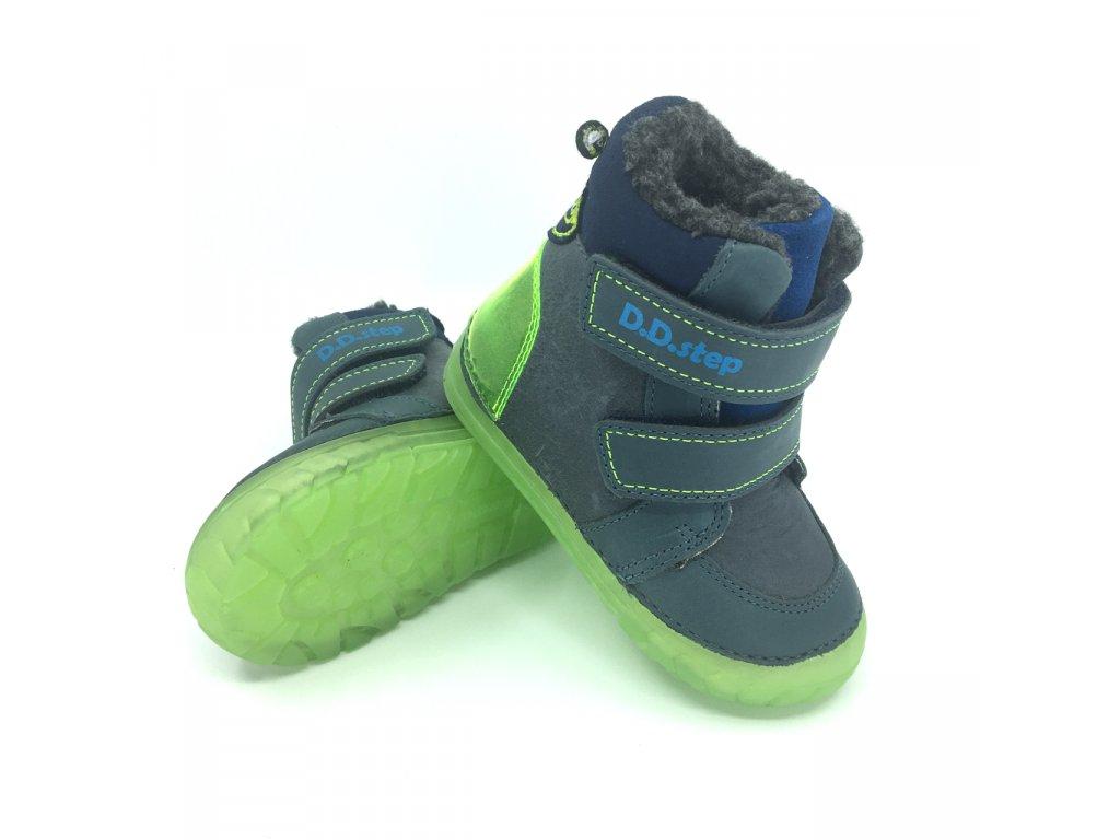 Zimní boty DD Step 029-782B Bermuda Blue