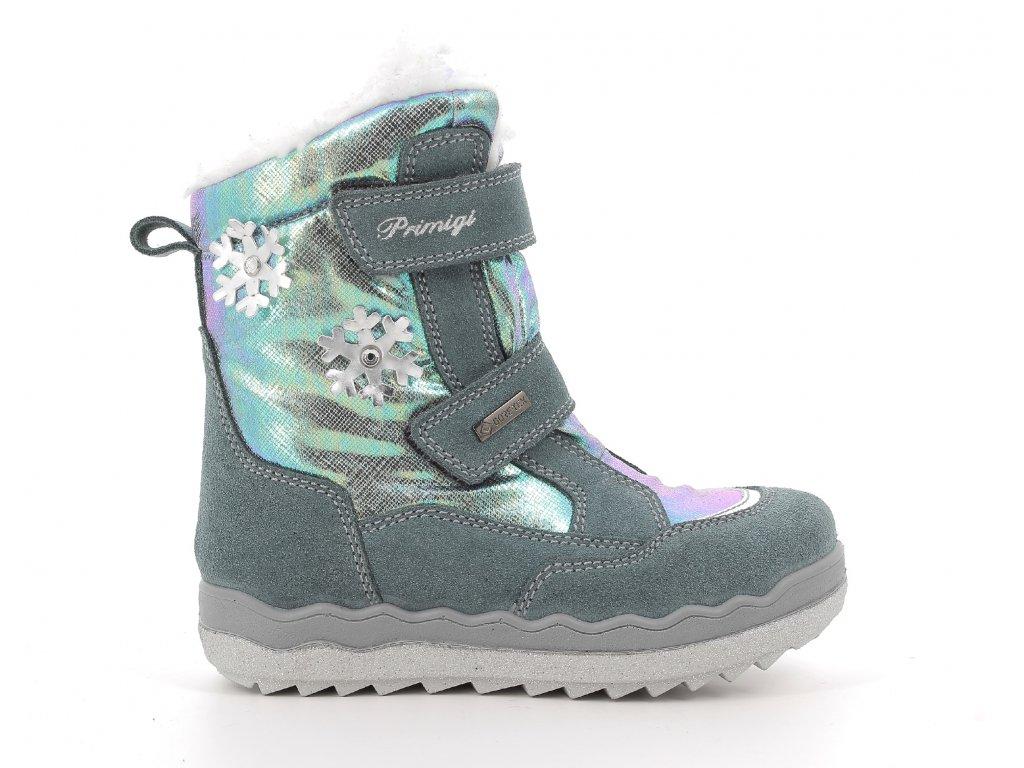 dívčí zimní boty Primigi 6381644 goretex