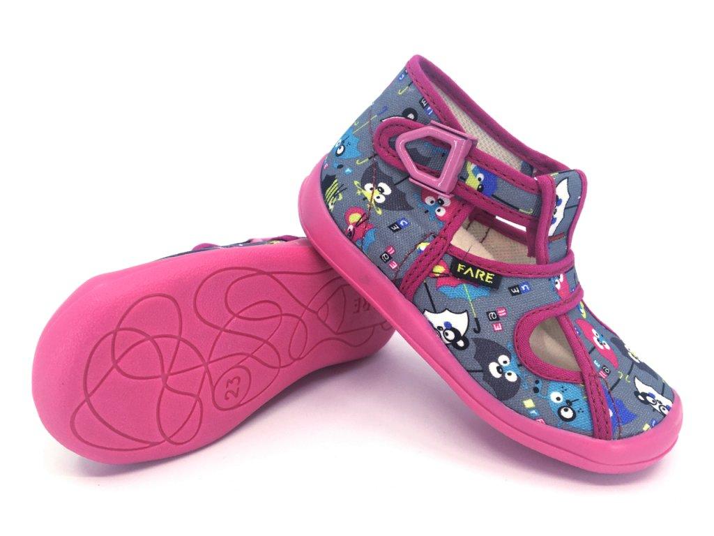 Dětské papuče na přezku FARE 4114446