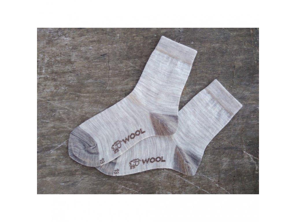 ponožky z ovčí vlny
