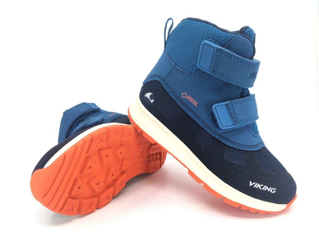 Zimní boty Viking Toby Navy GTX