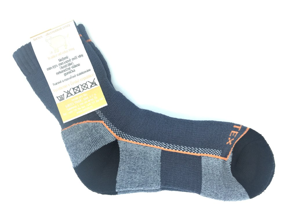 ponožky surtex zima 95 merino