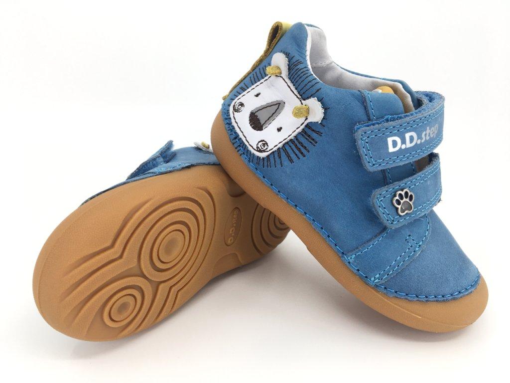 DD Step 015 459 Bermuda blue celoroční boty