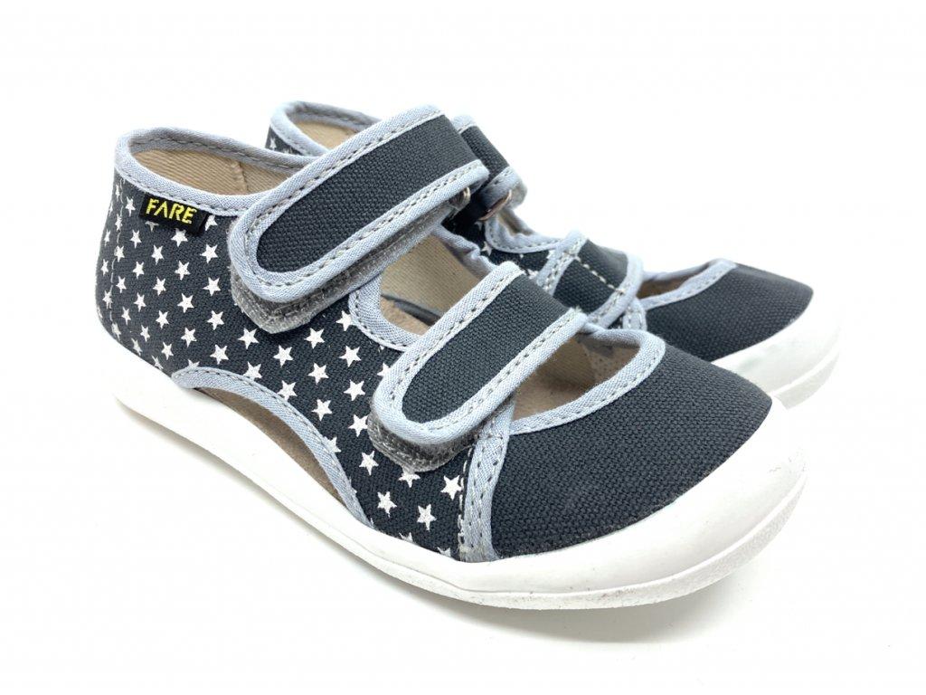 Dětské textilní sandálky papuče FARE 4118462