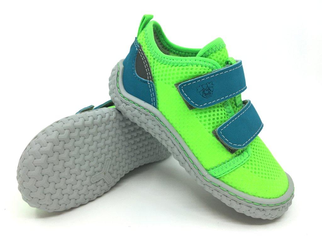 barefoot tenisky Ricosta Peppi Neongrün