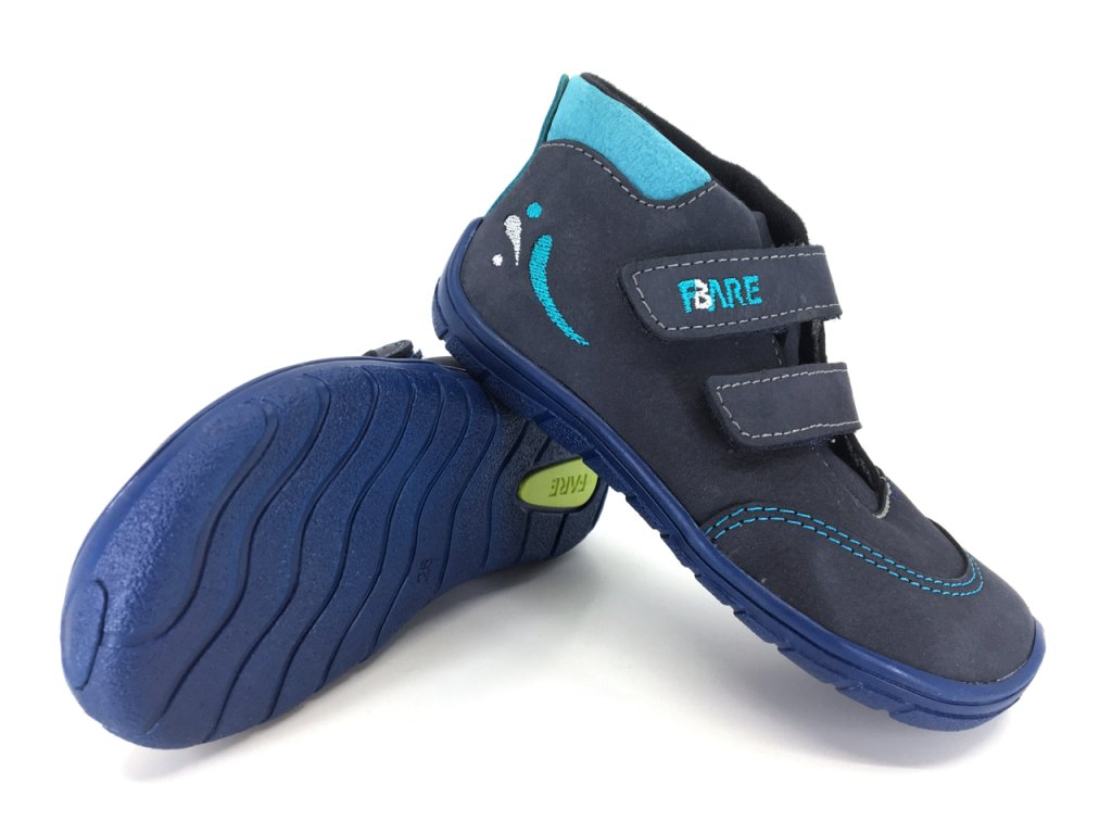 Dětské barefoot celoroční boty FARE BARE 5121203