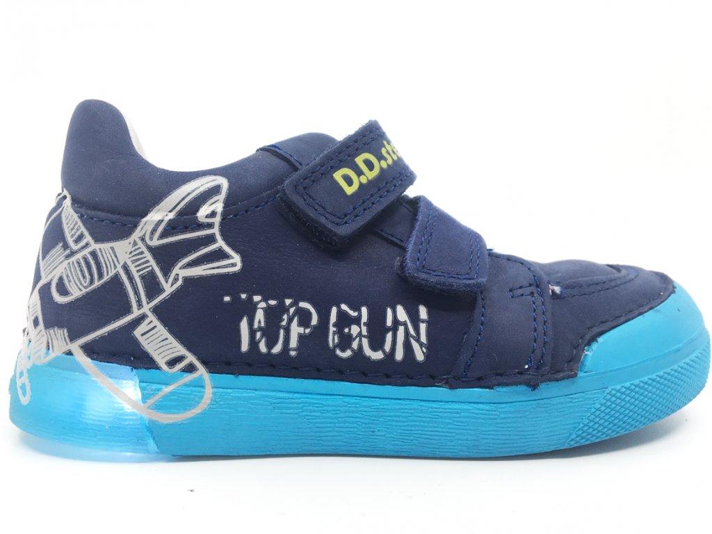 svítící dětské boty DD Step 068 45M