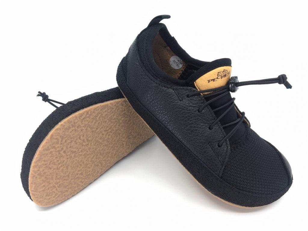 tenisky Barefoot Pegres BF33 černá